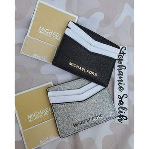 Michael Kors Glitter Card Holders